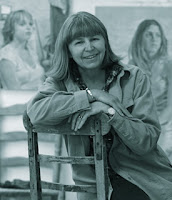 Portrait of English Artist Daphne Todd