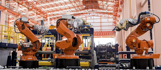 El ascenso de una fuerza laboral robótica