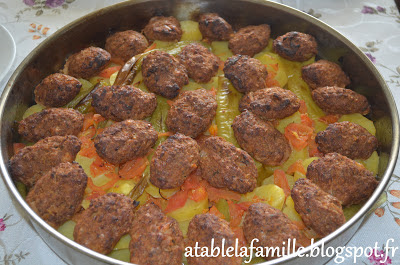firinda patates ve kofte