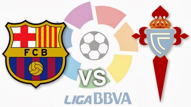 مشاهدة مباراة برشلونة وسيلتا فيغو 26-3-2014 بث مباشر علي بي أن سبورت مجانا Barcelona vs Celta Vigo