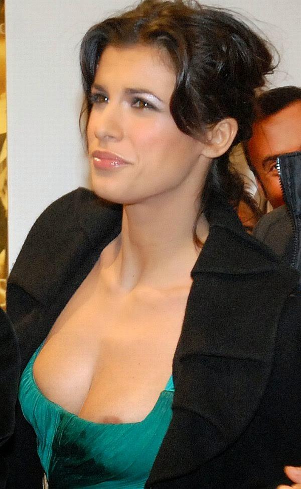 Elisabetta Canalis mellbimbója