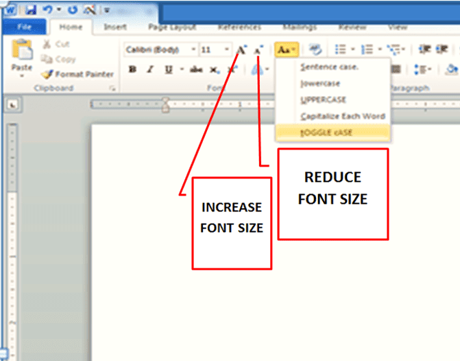 formatting tools for applying text style of microsoft word