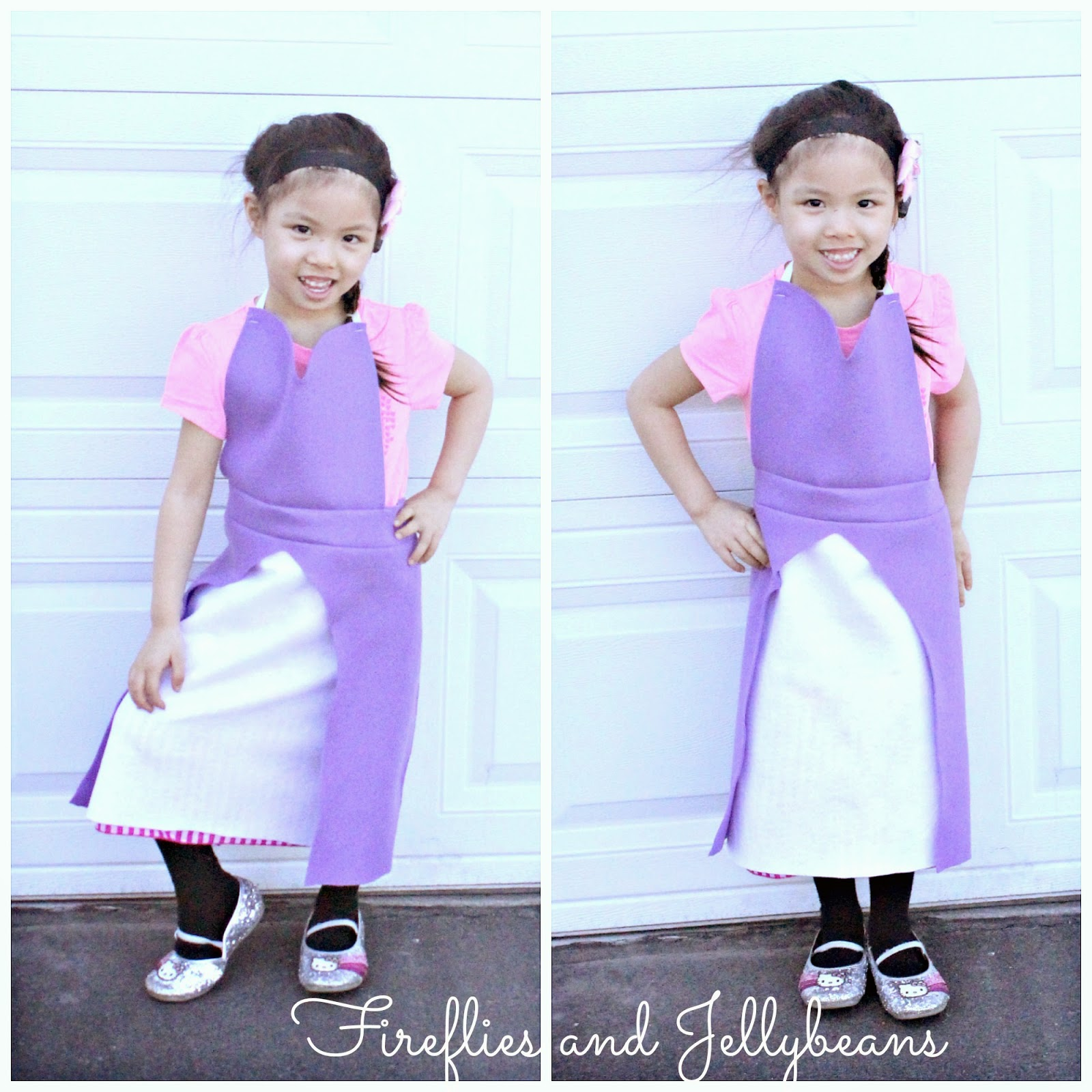 Fireflies And Jellybeans Easy Diy Princess Dress Up