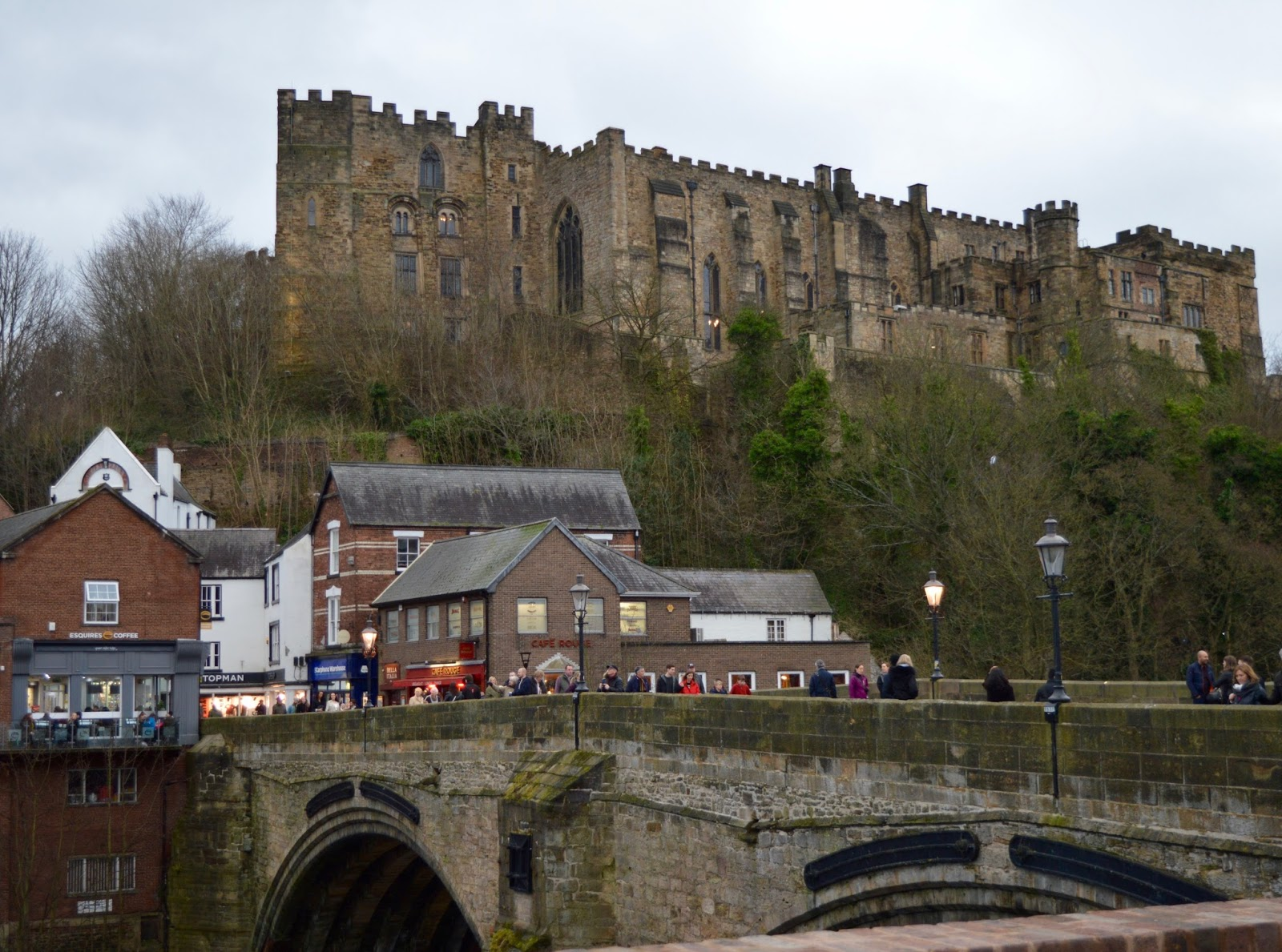 Fire and Ice Durham 2017 | Photographs & Top Tips for 2018 - Durham castle from river