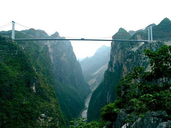 A ponte mais alta do mundo