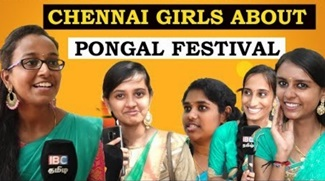 Chennai Girls about Pongal Festival 2019 | Saveetha College girls about village Pongal