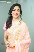 Actress Ritu Varma Pos in Beautiful Pink Anarkali Dress at at Keshava Movie Interview .COM 0113.JPG