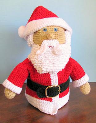 Amigurumi Santa Crochet, free christmas crochet pattern, santa claus crochet, christmas amigurumi, snta doll, crochet christmas decor, santa centerpiece, santa ornament, santa bauble, crochet ornament, crochet bauble, free crochet, free amigurumi, crochet christmas gift, crochet santa gift, handmade christmas present, handmade cristmas decor, handmade santa
