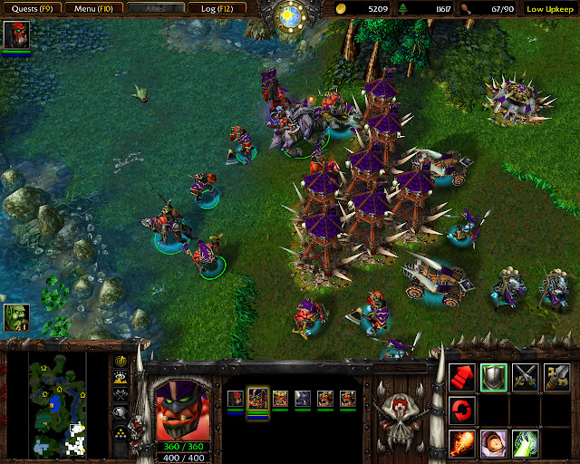 Chaos Orcs and The Blood of Mannaroth Screenshot | Warcraft 3: Reign of Chaos