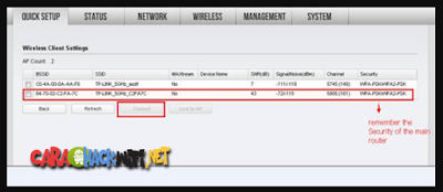 Scan Router Utama