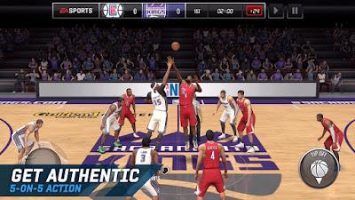 Free Download NBA LIVE Mobile Basketball  NBA LIVE Mobile Basketball 2018 Apk Mod Android v3.0.01