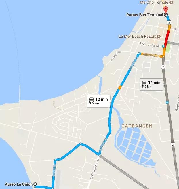 Google Maps Aureo Barangay San Francisco San Fernando La Union Region I Philippines