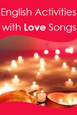 Unterrichtsmaterial für den Valentinstag. Musik im Englischunterricht einsetzen.
