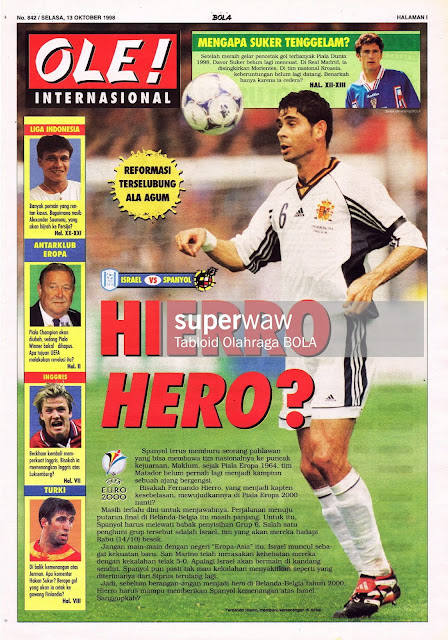 FERNANDO HIERRO SPAIN VS ISRAEL