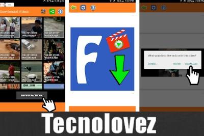 Video Downloader per Facebook | Applicazione android per scaricare e salvare video da facebook