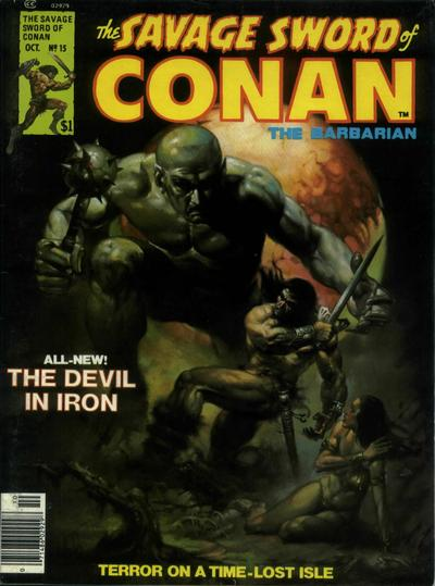 Marvel Comics, Savage Sword of Conan  #13