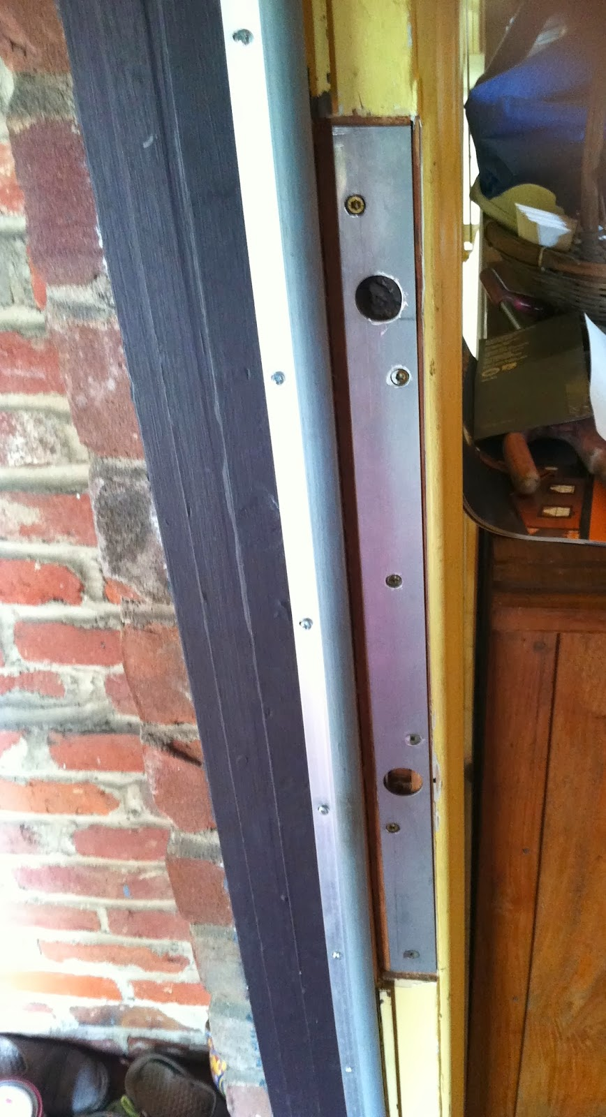 Stand Out Work Front Door Reinforcement Protection From