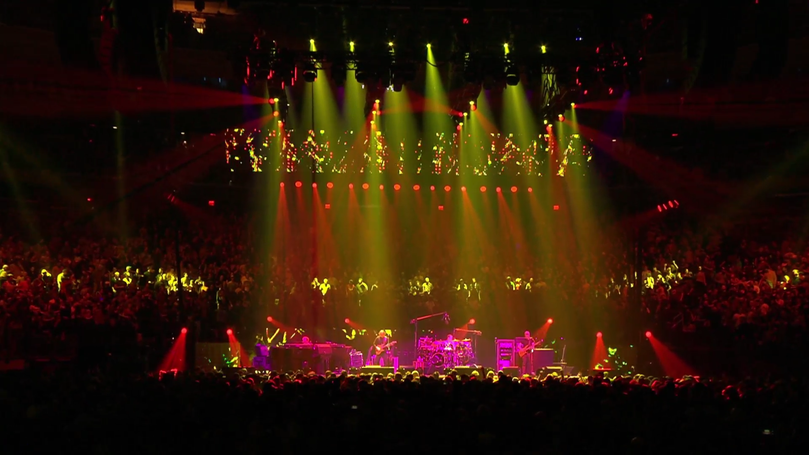 The Curtain With Phish 2016 12 29 Madison Square Garden Nyc Ny Webcast Rip