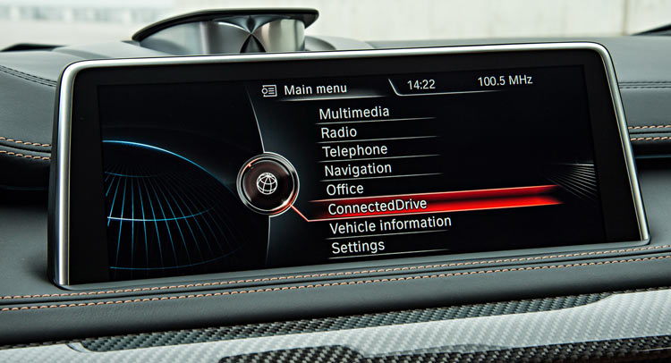 Hệ thống giải trí trên 7 Series sẽ được trang bị cho X5 & X6?