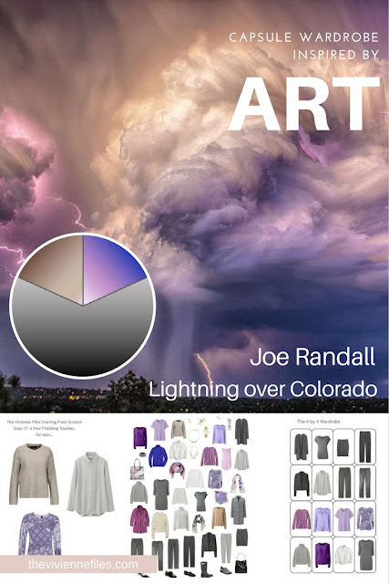 How to Build a Capsule Wardrobe From Scratch: Evaluating and Balancing, based on Lightning over Colorado by Joe Randall