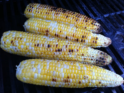 Corn on the Cob on Grill