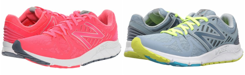 New Balance Vazee Rush Running shoes in pink for only $43 (reg $90) or in gray for $48 (reg $90)