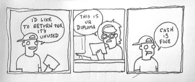 Extra Fabulous Comics Return Diploma