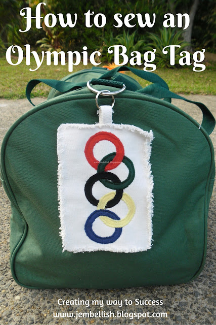 Olympic Bag Tags
