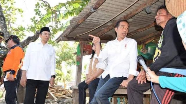 Perlukah Gempa Lombok Bencana Nasional? Ini Jawaban Jokowi