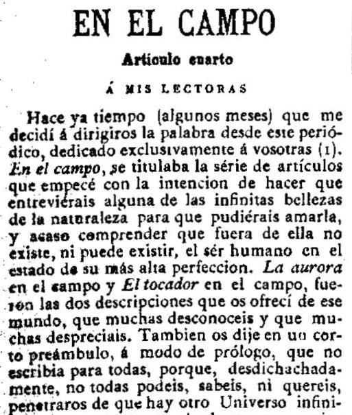 Fragmento del artículo publicado en Las Dominicales del Libre Pensamiento