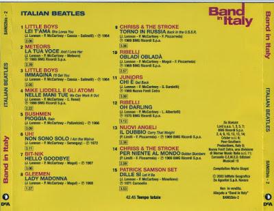 VA - Band In Italy - Italian Beatles (1964-1972)