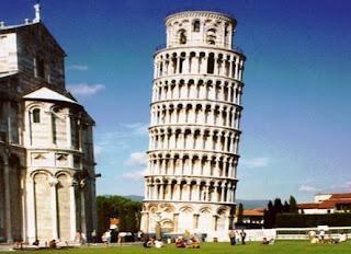 Gambar Menara Pisa, Italia