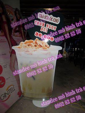standee trà sữa