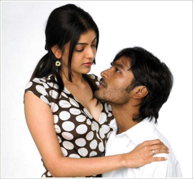 Kajal And Danush Hot Photos