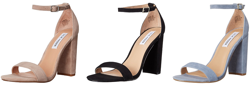 Steve Madden Carrson Dress Sandals as low as $25 (reg $95)