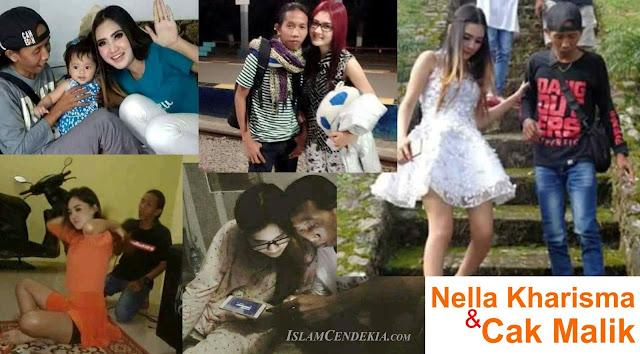 Foto-foto mesra Nella Kharisma dan Malik