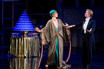 Susannh Hurrell, Samantha Price - Die Fledermaus - Opera Holland Park. Photo Robert Workman.
