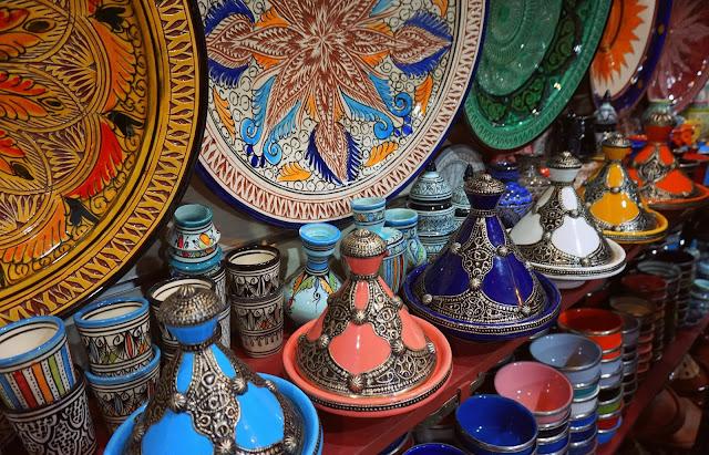 Marrakech market oriental
