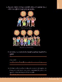 Respuestas Apoyo Primaria Desafíos matemáticos 3ro. Grado Bloque III Lección 34 ¿A quién le tocó más?