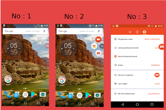 [App Andorid] Aplikasi Android Perekam Layar Mobizen Dan Cara Menggunakannya