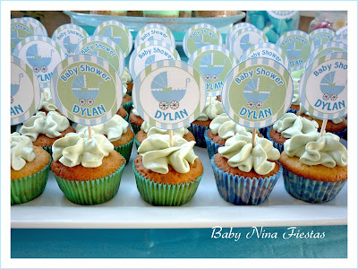 minicupcakes baby shower