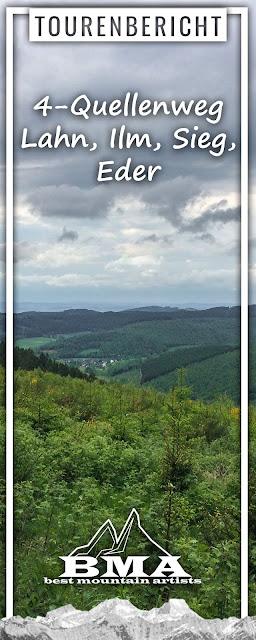 4-Quellenweg Lahn, Ilm, Sieg, Eder | Wandern Siegerland-Wittgenstein