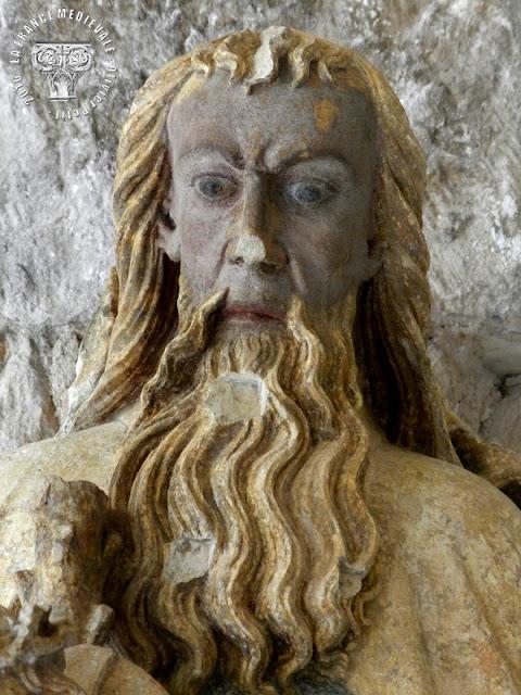 TOUL (54) - Musée d'Art et d'Histoire : Trône de Grâce ou Trinité (XVe siècle)