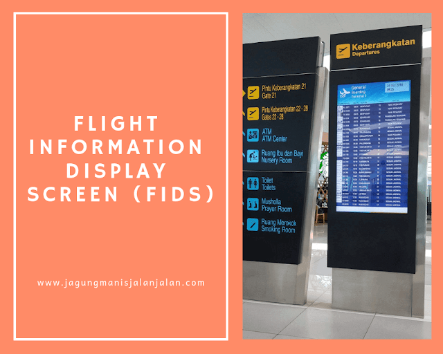 Flight Information Display Screen (FIDS)