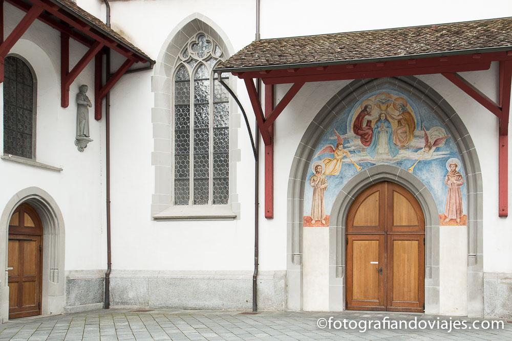 Franziskanerkirche o iglesia de los franciscanos en Lucerna