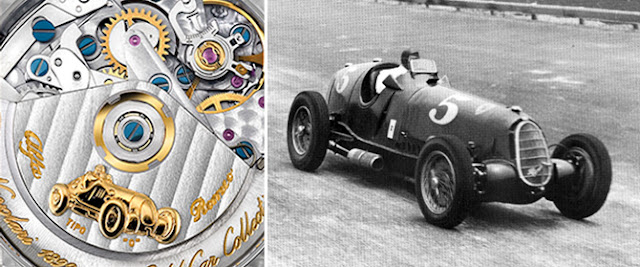 Movement of the Eberhard Nuvolari Legend