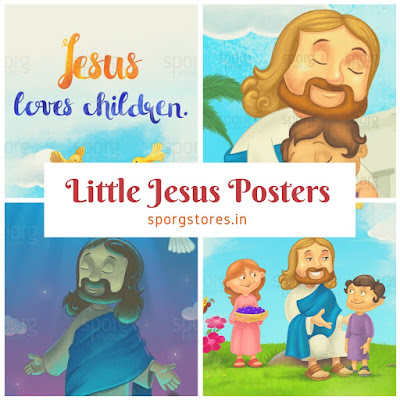 Buy Little Jesus poster online from Sporg Stores