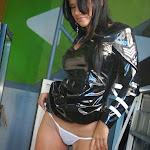 Andrea Rincon, Selena Spice Galeria 5 : Vestido De Latex Negro Foto 145
