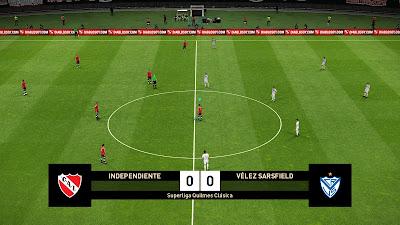 PES 2019 Scoreboard Superliga Argentina 2019 by Lucas Villa