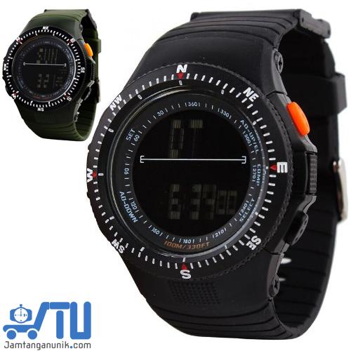Jam tangan pria anti air murah SKMEI 0989